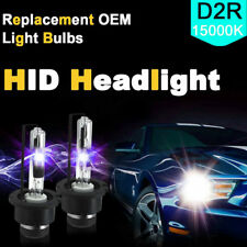 15000K D2R Xenon Lamp Headlight Replace Factory 2X HID Low Beam for Osram