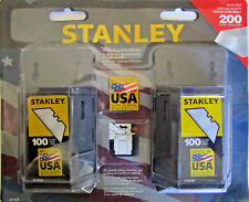 Stanley 200 Utility Blade Value Pack for Utility Knives Package of 2 x 100 Box
