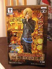 DXF Grandline Men SANJI Film Gold - One Piece - Banpresto Neuf/New TOEI Sticker