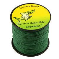 100%PE NEW 4 Strength Super Strong Dark Green 100-1000M 6-300LB Fishing Line