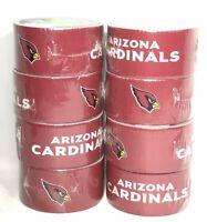 Lot of 8 Duck Tape Arizona Cardinals NFL Logo 1.88in x 10 Yards New
