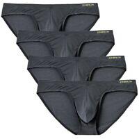 4 Pack Men's Briefs Comfort Cool Sexy Underwear Jockstrap Ultra Soft Panties