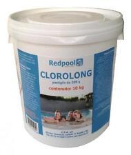 5 kg Cloro in pastiglie tricloro 90% da 200 gr pulizia manutenzione acqua piscin