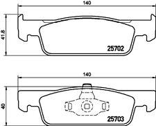 Mintex Front Brake Pad Set MDB3360  - BRAND NEW - GENUINE - 5 YEAR WARRANTY