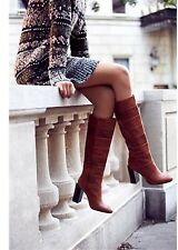 Jeffrey Campbell & Free People Brown Cognac Mariana Boots, size 6, Brand new !!
