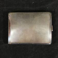 Cigarette Case Art Deco German .835 Silver Deyhle or Kuhn Tobacciana Vintage