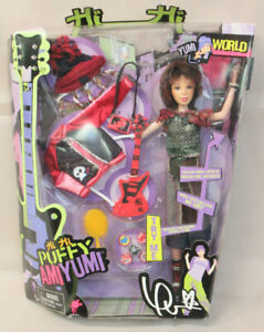 2005 Mattel HI HI PUFFY AMIYUMI Japanese YUMI Doll (H9554)