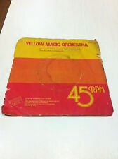 YMO YELLOW MAGIC ORCHESTRA computer game RARE INDIA SINGLE ps 45 electronica !!!