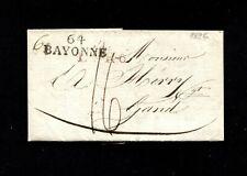 "Frankreich 1826 - ""64- Bayonne""  roter L1 ""L.F.R.6""  (#8015)"