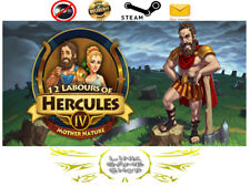 12 Labours of Hercules IV: Mother Nature (Platinum Edition) PC Digital STEAM KEY