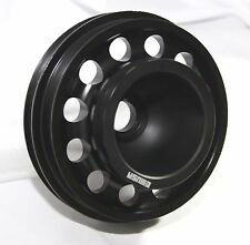 BLACK Crank Pulley for D SERIES SOHC 92-95 Civic 93-95 Civic Del Sol