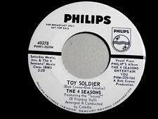 4 SEASONS~TOY SOLDIER~NEAR MINT~ MEGA RARE PROMO~PHILIPS ~ POP 45