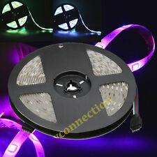 5M SMD 5050 RGB LED Strip Waterproof 300 LEDs Light Flexible 60/M IP65 12V US