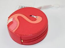 Kate Spade Flamingo Coin Purse Take a Walk on the Wild Side Geranium WLRU25, NWT