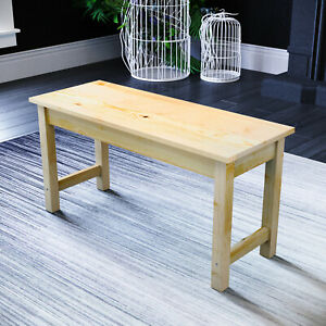 Dining Bench Wooden Long Seat for Kitchen Table Chairs Home Hallway