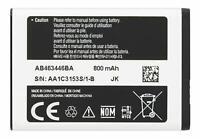 Samsung Original Battery Li-ion AB463446BA 800 mAh 3.7V for Samsung E1360
