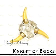 Lego Minifigure TRANS BLACK Super Heroes Weapon Holder Ring 1 Ninjago Aeroblade