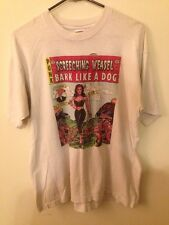 RARE Vtg Screeching Weasel Bark Like a Dog Shirt Queers Riverdales Operation Ivy