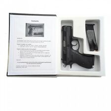 Handgun Pistol Hidden Secret Compartment Money Security Book Gun Safe Cash Box