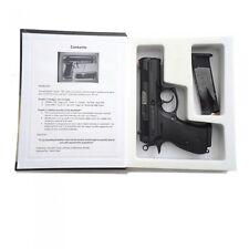 Handgun Pistol Hidden Secret Compartment Money Security Book Gun Safe Cash Box