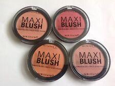 RIMMEL MAXI BLUSH POWDER BLUSH 9g various shades