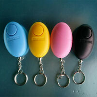 Personal egg Alarm Emergency Siren Song Survival Whistle Self Defense Keychain