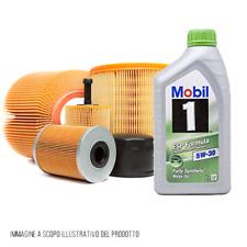 Kit tagliando 4 filtri + 7 lt Mobil 5W30 KF0084/fo Mercedes Classe B, Classe A