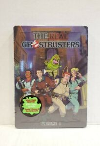 The Real Ghostbusters Collection Vol 1 5-Disc DVD Steelbook Rare Original Volume