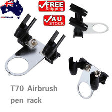 Simple Airbrushes Holder Stand Support Airbrushes Compressor Mount Tool Art AU