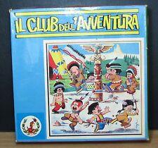 IL CLUB DELL'AVVENTURA GIOCO DA TAVOLO PUZZLE CUBI VINTAGE ANNI '70 PRIMA EDIZ.
