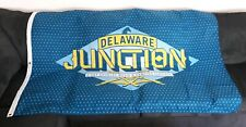 Delaware Junction 3 Day Country Music & Camping Festival Large Banner Flag Rare