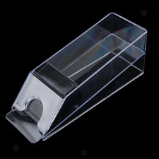 Blackjack Dealer Shoe Game Table Accessories Casino Equipment Acrylic Clear