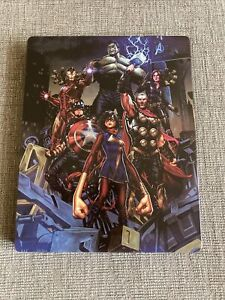 *No Game* Marvel Avengers Steelbook Only - PS4 PS5 Xbox One Limited Edition