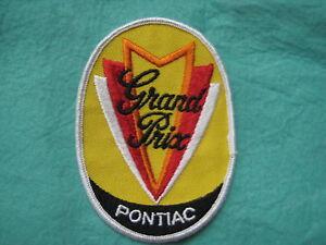 """Vintage Pontiac Grand Prix Dealer Service Patch 3""""X4 3/8"""""""