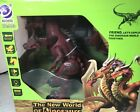 NISB 2019 Ruicheng 9992 New World of Dinosaurs REMOTE CONTROLLED 3-HEADED DRAGON