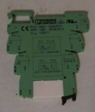 Phoenix Contact PLC-BSC-120UC/21 Terminal Block W/ Relay 296118 art nr 2966032