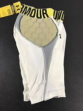 New Boys Youth Under Armour MPZ Football Compression Hip Padded Shorts Pants L