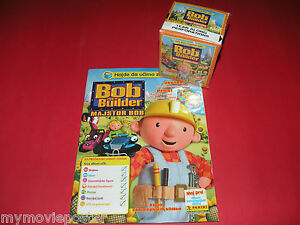 PANINI BOB THE BUILDER  2008 NEW EMPTY ALBUM + NEW CARD BOX 50 PACKS STICKERS