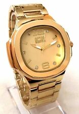 Mens Casual Watch Ice Master BM1312 Gold Bracelet Band, Mens Formal Watch 1ATM