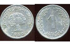 TUNISIE  1 millim  1960   ( bis )