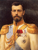 Dream-art Oil painting male portrait tsar Nicholas II hand painted in oil canvas