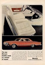1964 Mercury Park Lane Marauder Styling 4-Door PRINT AD