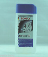 SONAX TIRE GLOSS GEL DUAL ACTION CLEANER CONDITIONER BMW MERCEDES VW MINI VW