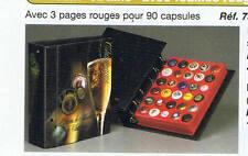 Album Artline Safe avec 3 Recharges rouges pour 90 muselets
