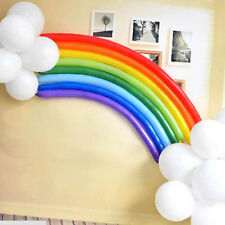 Rainbow Set Mixed Color Magical Long Animal Twist Latex Balloon Party Decorate