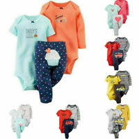 New born Infant Baby Boys Girl Romper Bodysuit Jumpsuit Clothes Outfits Set