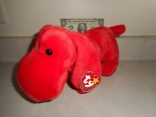 Mint with Original Tag TY Large Red Rover the Dog Beanie Buddy