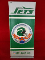 Vintage New York Jets NFL Football Official Silver Anniversary 1984 Yearbook