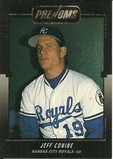 1992 Donruss Rookie Phenoms Jeff Conine BC3 Royals