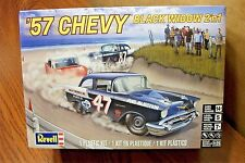 REVELL '57CHEVY BLACK WIDOW  2'n1 MODEL KIT 1/25 SCALE